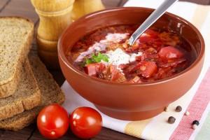 Как приготовить вкусный борщ с фасолью и мясом? Семейный рецепт вкуснейшего борща