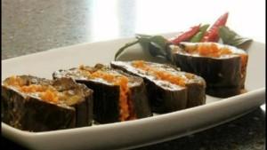 Баклажаны с морковью, зеленью и чесноком на зиму. Классический рецепт