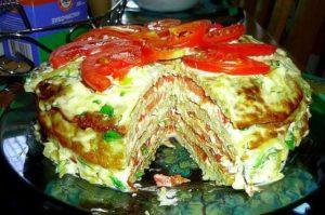 Вкусный торт из кабачков — простой пошаговый рецепт с фото