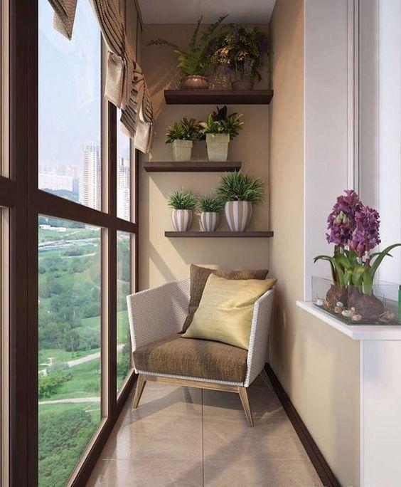 Как сделать балкон стильным