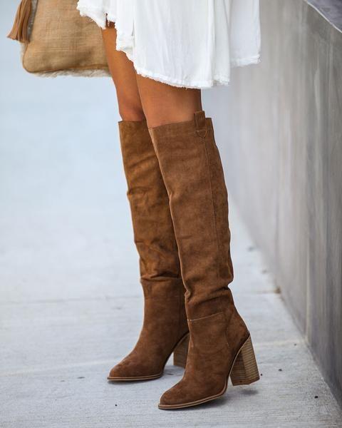 Сезон осень-зима модные женские сапоги