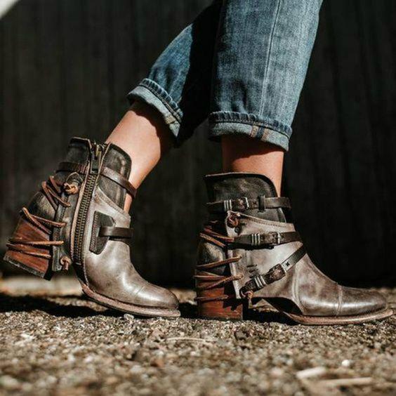 Самая модная женская обувь осень-зима