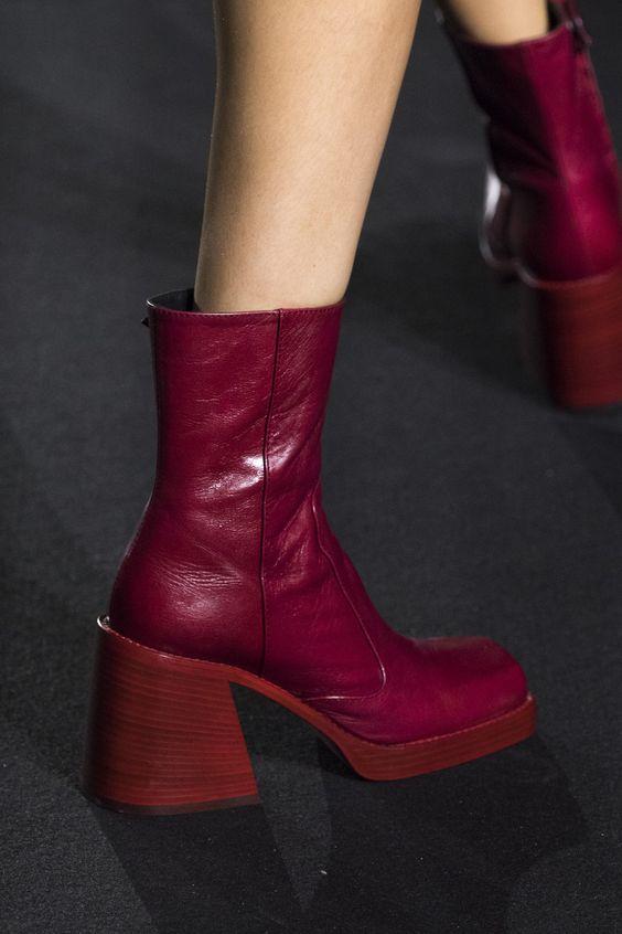 Интересные модели женской модной обуви