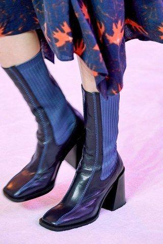 Модная женская обувь - интересные решения