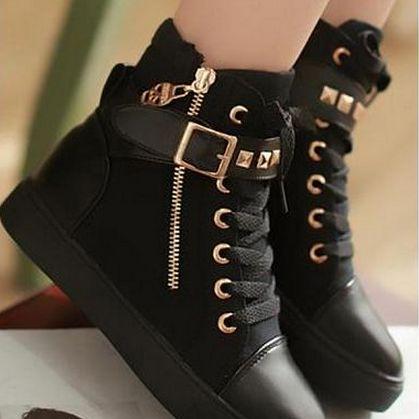 Модные женские ботинки осень-зима