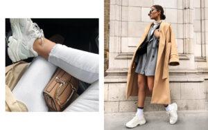С чем носить белые женские кроссовки? Советы и примеры с фото