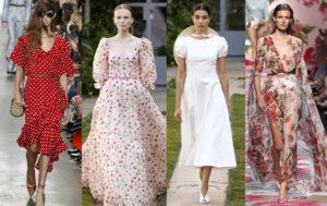 Модные платья лето 2020 фото