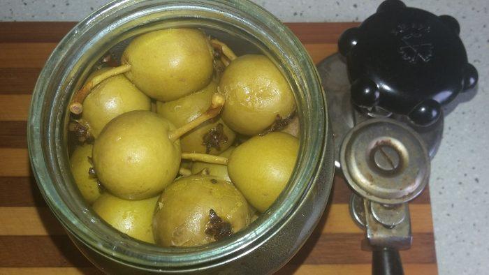 Пряные груши на зиму рецепт