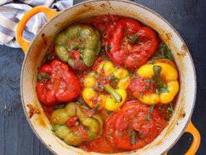 Вкусный фаршированный перец пошаговый рецепт «без заморочек»