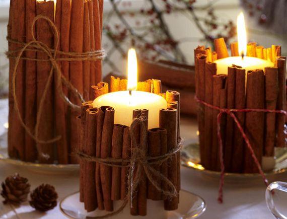 Свечи из воска очищают воздух в квартире